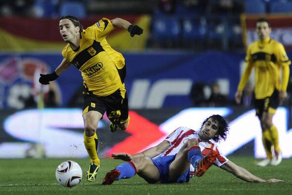 El Atlético recibió al Aris Salónica griego, dirigido por el argentino H...