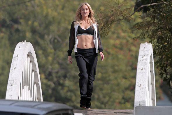 Kate tiene una línea de ropa deportiva.