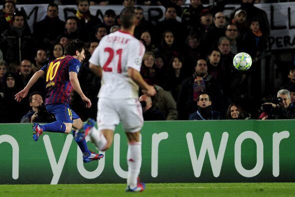 El primer gol de Messi ha sido de cine. Otro ángulo para que vaya...