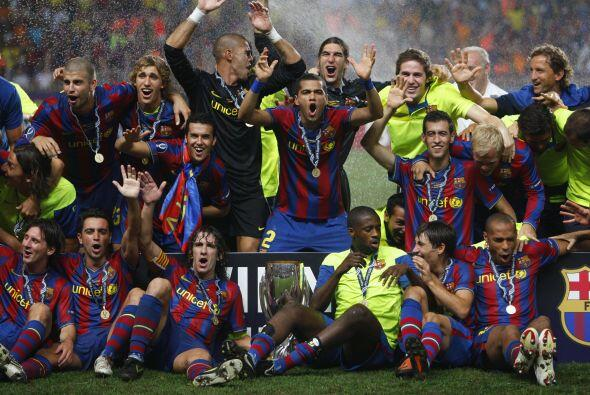En su primera temporada, la 2008-09, el Barça firmó un récord histórico...