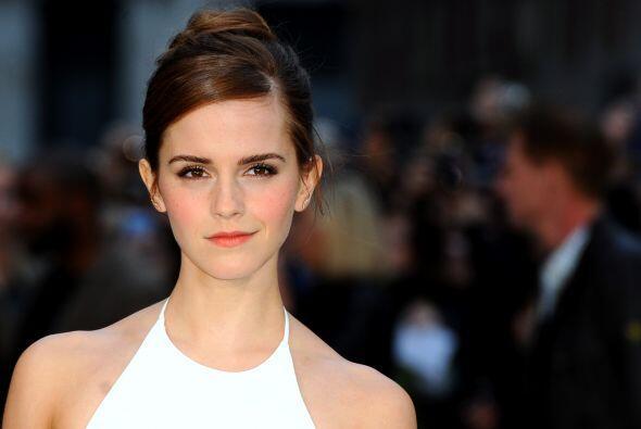 Emma Watson y muchas más son las 'celebrities' amenazadas con ver su int...