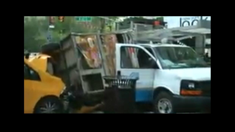 Accidente de tránsito en Manhattan