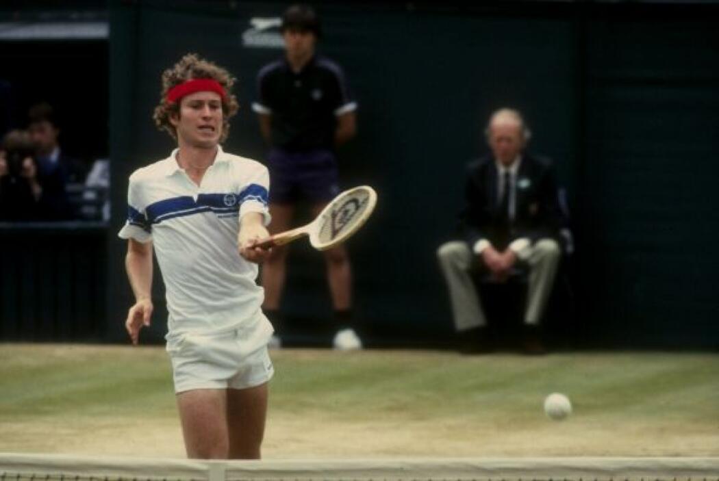 Con siete Grand Slams está el ex jugador estadounidense John McEnroe, re...