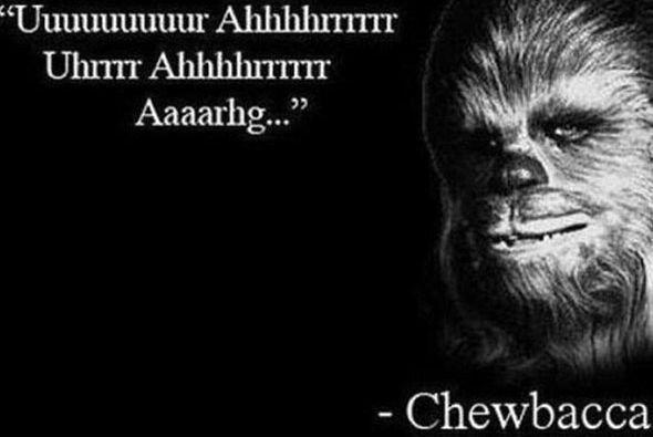 Rápidamente le pidieron una declaración a Chewbacca y esto...