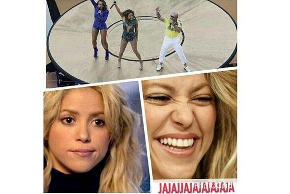 La reacción de Shakira Todo sobre el Mundial de Brasil 2014.