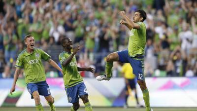 El tico Leo González marcó su segundo gol en la MLS.