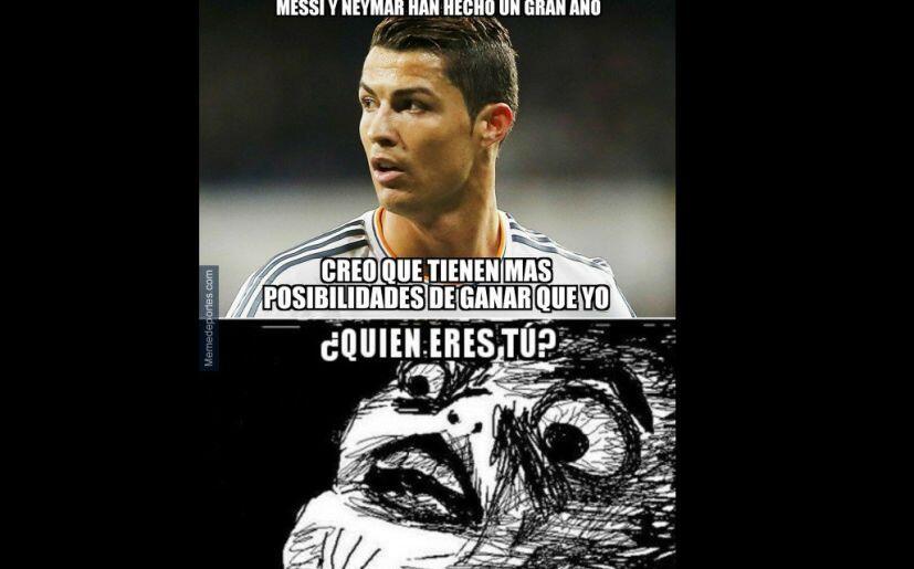 Los memes del quinto Balón de Oro de Messi