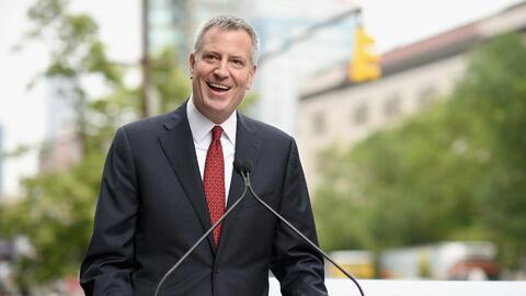 El alcalde de Nueva York fue multado por violaciones relacionadas a campaña