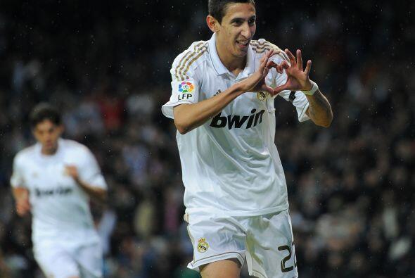 Angel Di María es el 'mimado' de Mourinho. La confianza del técnico lo h...