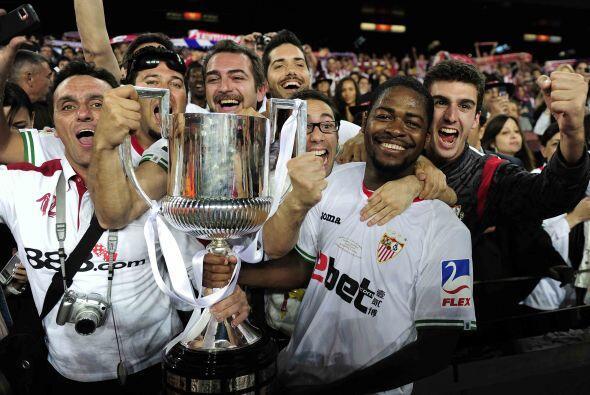 Con este triunfo, el Sevilla logró la quinta Copa del Rey en su historia.