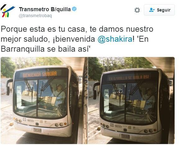 Así fue como el transporte público de Barranquilla le dio la bienvenida...