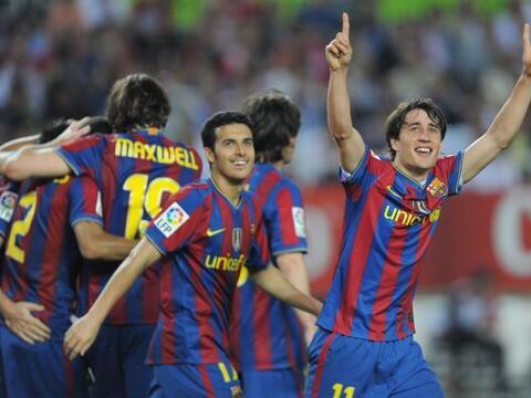 El Barcelona se sigue acercando al campeonato de la Liga de Españ...