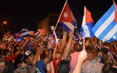 Muerte de Fidel Castro entre el luto de Cuba y la fiesta en Miami