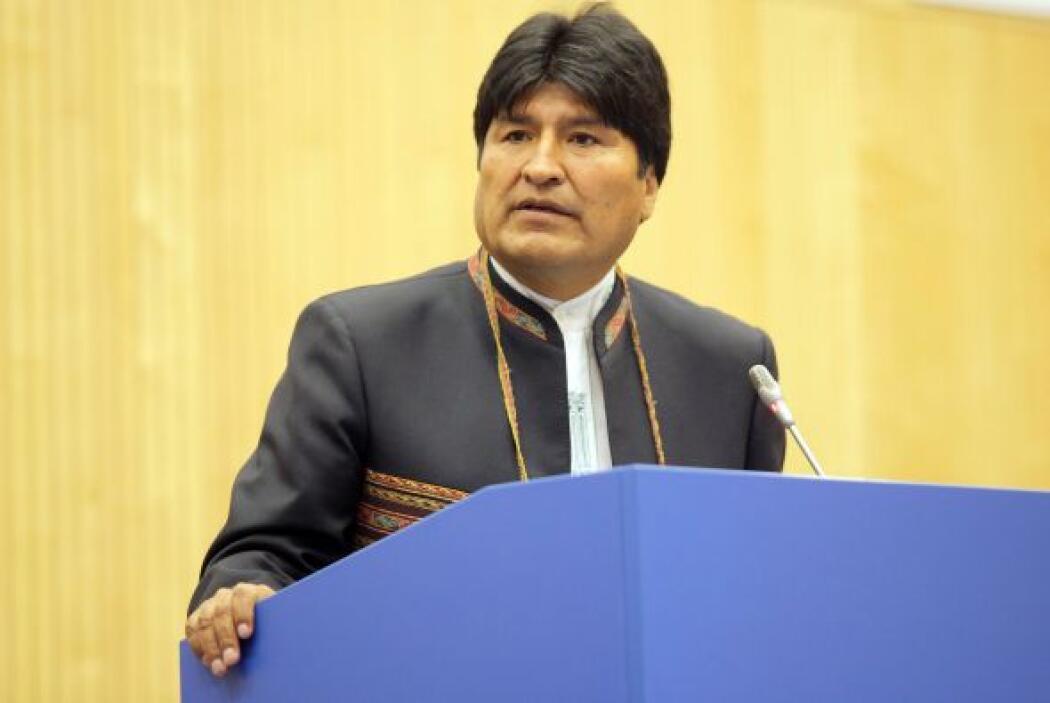 La reciente decisión del presidente de Bolivia, Evo Morales, de expropia...