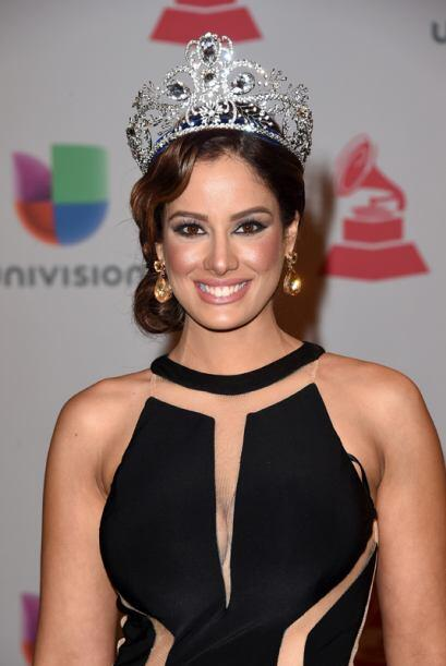 Nuestra Belleza Latina 2014 portó su corona con mucho estilo.