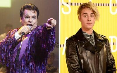 Juan Gabriel y Justin Bieber
