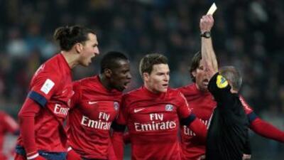 No fue el mejor partido para los parisinos en su visita al Sochaux.