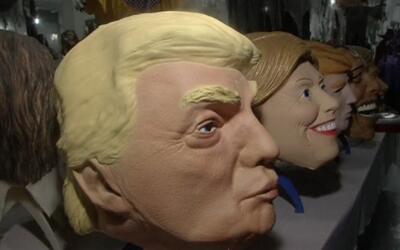 Una fábrica de China ha comenzado a producir máscaras de Donald Trump y...