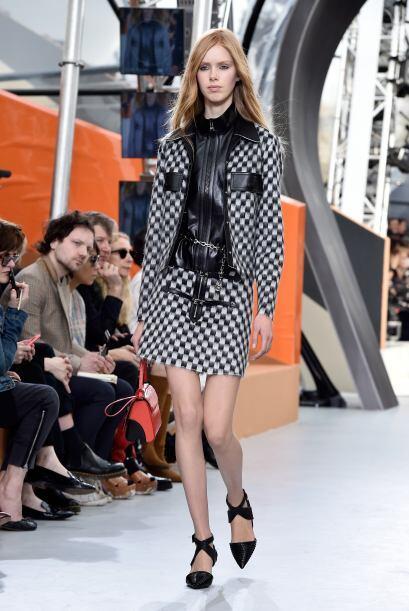 Louis Vuitton siempre tan elegante.