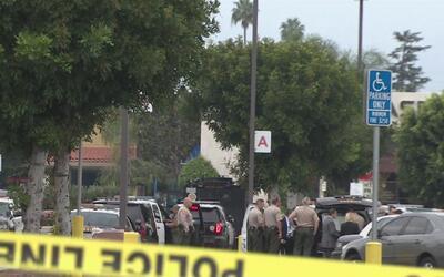 Una balacera mortal se registró en la estación del Sheriff en Temple City