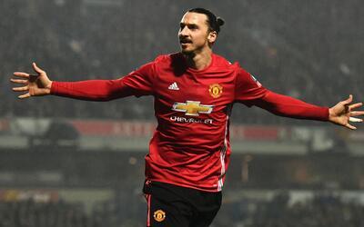 Zlatan Ibrahimovic mete a Manchester United a cuartos de la FA Cup
