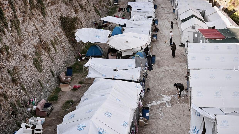 La sombría realidad de los refugiados en la isla de Chios