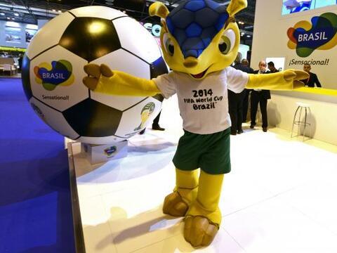 Las mascotas han tomado relevancia en los Mundiales, además de los carte...