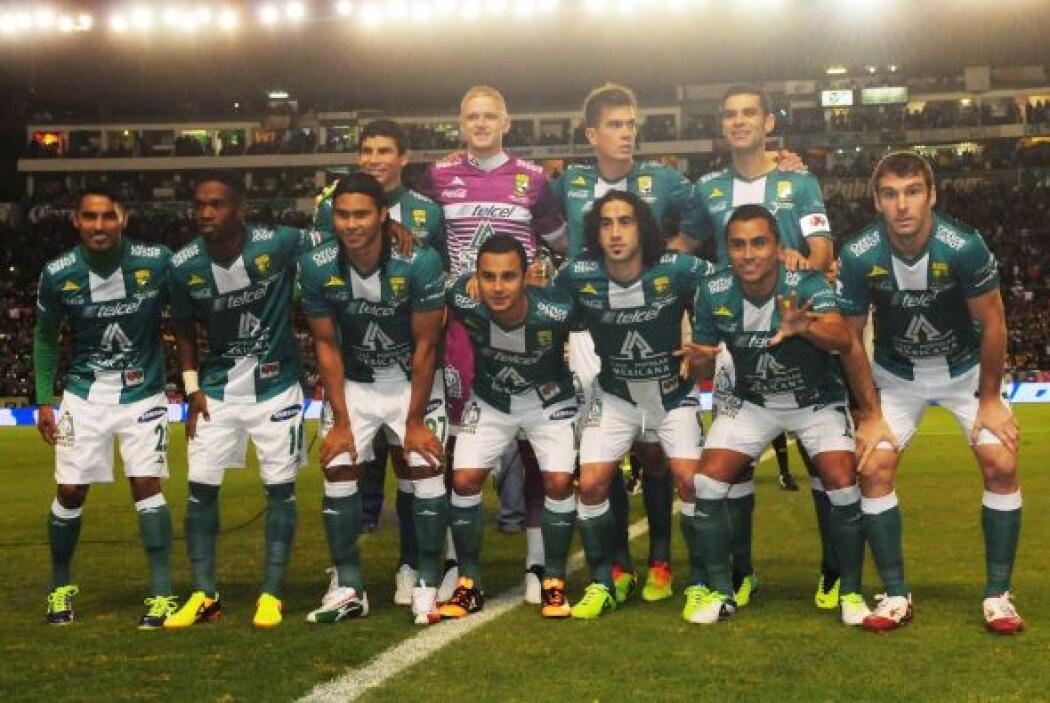 León: Yarbrough, Márquez, Hernández, Magallón, Burbano, Vázquez, Montes,...