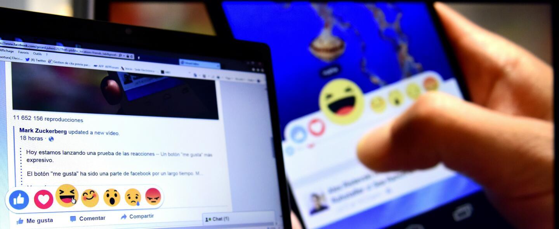 Se celebra el primer aniversario de los emoticones de Facebook