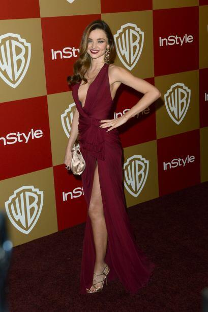 Lo único que revela inocencia en la belleza de Miranda Kerr es su cara p...