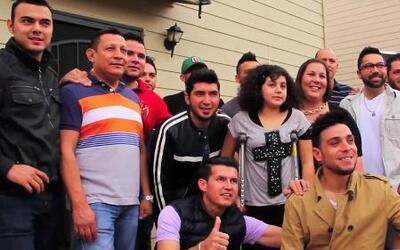 Una madre logró que Banda El Recodo visitara a su hija
