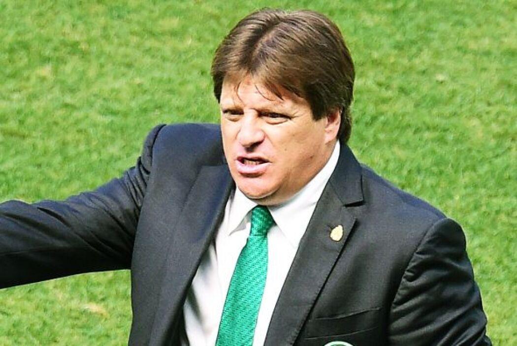 El 'Piojo' Herrera, D.T del TRI quedó muy satisfecho con la actuación de...