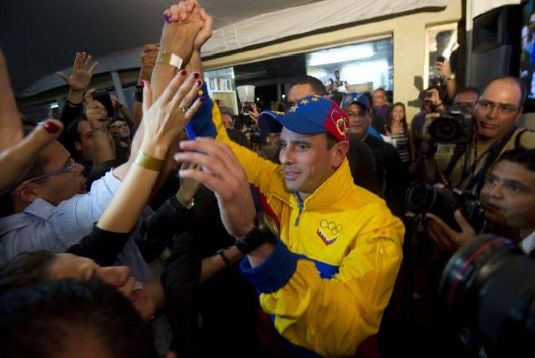 """""""Habló bien, dijo que estaba feliz por Miranda pero triste por Venezuela..."""