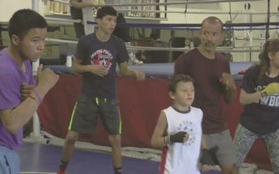 Prevención del crimen boxeando