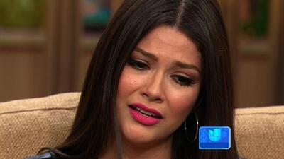 Ana Patricia González lloró al confesar que se separó de su marido