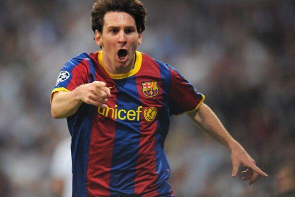 Fue el gol número 9 de Messi en Champions y rompía además la imbatibilid...