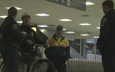 Operativos especiales de seguridad en los aeropuertos de Houston tras el...