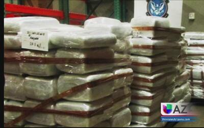 Decomisos millonarios de droga en el puerto fronterizo de Mariposa