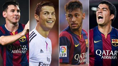 Candidatos a Mejor Jugador UEFA 2014-15