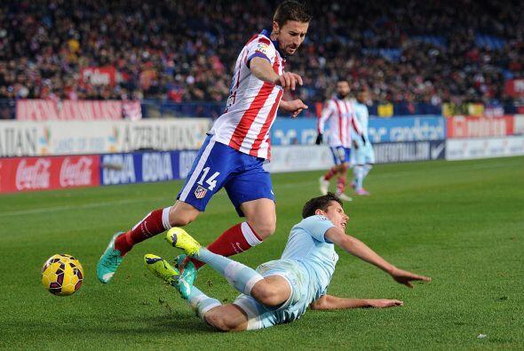 El Atlético controló las acciones en base a su acostumbrada garra y pres...