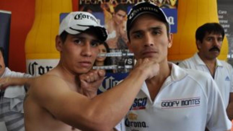'Ceviche' y 'Goofy' superaron el examen de la báscula (Foto: HG Boxing)