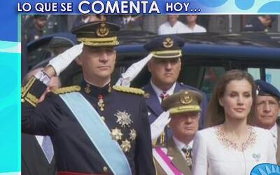 ¡Le pasó igual que a Messi! El Rey Juan Carlos no saludó a Letizia despu...