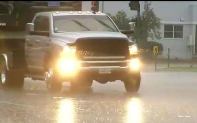 Con el regreso de las tormentas a California se decreta alerta amarilla