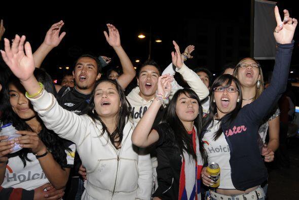 Fanáticas de Liga de Quito hasta la médula, que ya no va a requerir de s...