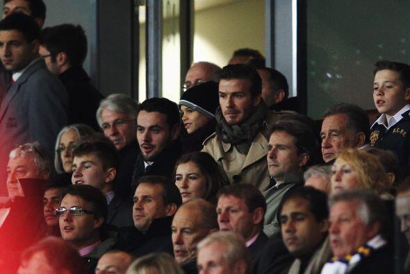 Imagínense que hasta David Beckham estuvo presente en el duelo do...
