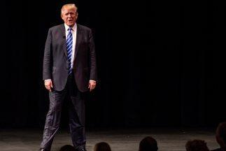 El aspirante republicano a la presidencia, Donald Trump.