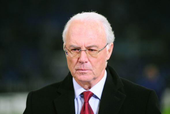 El alemán Franz Beckenbauer fue señalado en su momento com...