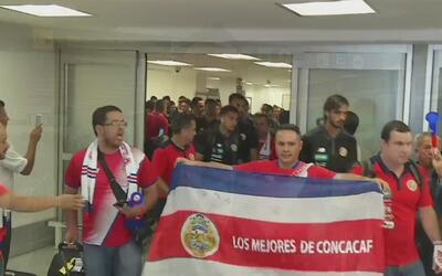 Costa Rica ya está en México para intentar un nuevo 'Aztecazo'