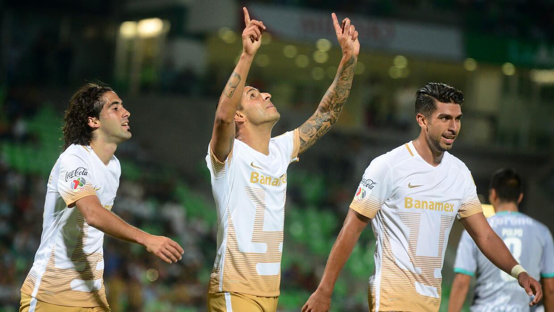 Pumas mantiene el buen paso en el Apertura 2015.
