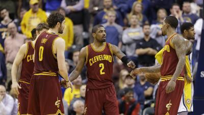 LeBron James totalizó 24 unidades, 12 rebotes y seis asistencias.